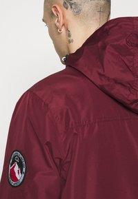 Ellesse - TERRAZZO - Summer jacket - burgundy - 5