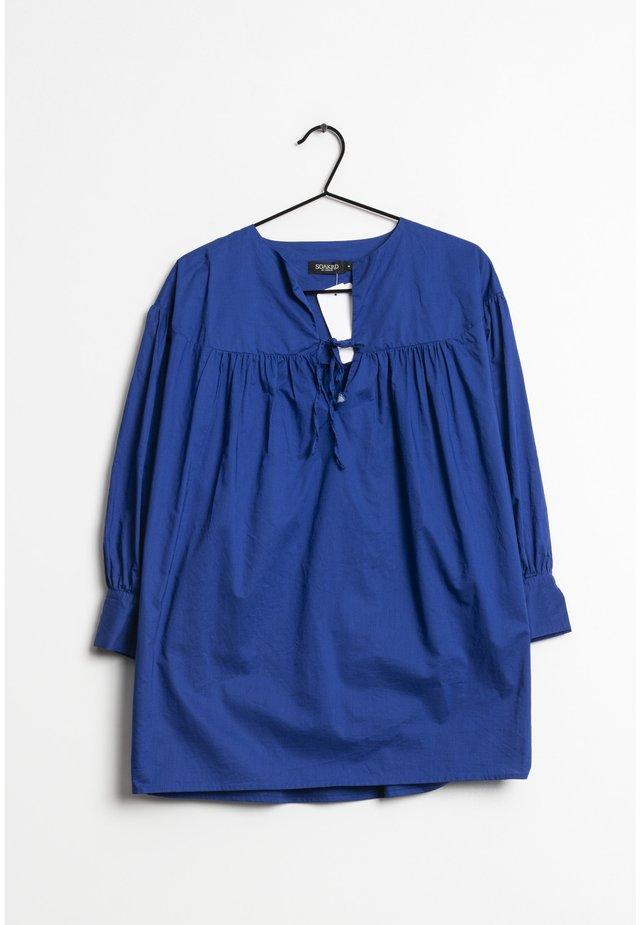 Blouse - blue
