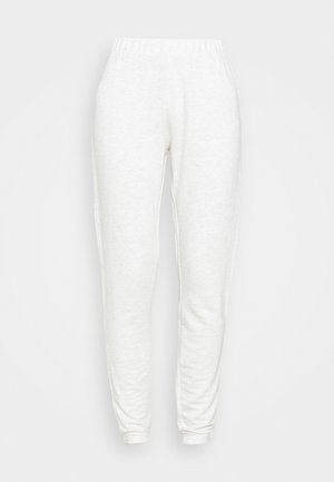 PCRELAX  - Tracksuit bottoms - light grey melange