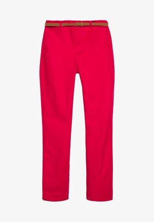 CINTURÓN - Chino kalhoty - red