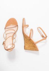 BEBO - BARTON - High heeled sandals - nude - 3