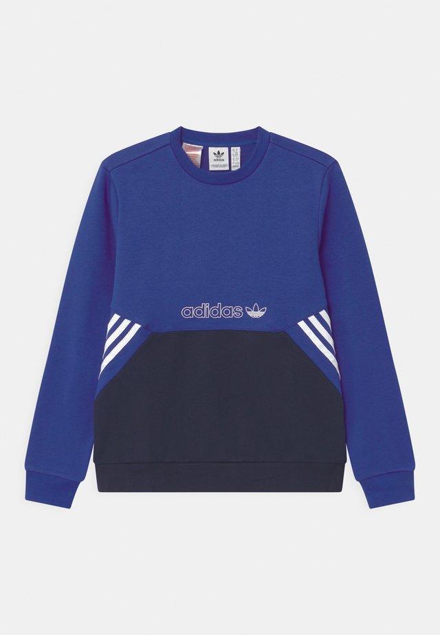COLOURBLOCK CREW UNISEX - Sweatshirt - team royal blue