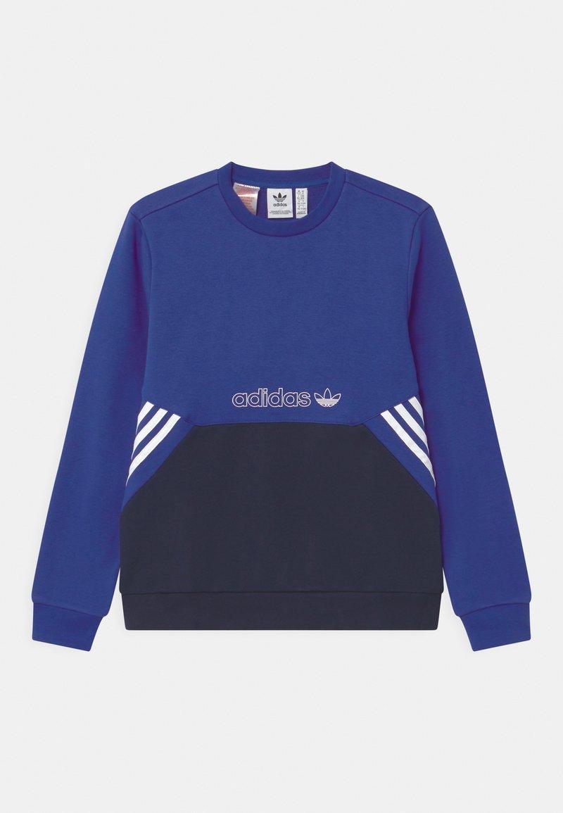 adidas Originals - COLOURBLOCK CREW UNISEX - Sudadera - team royal blue