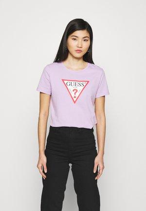 ORIGINAL - T-shirt z nadrukiem - lilac forever