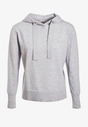Hoodie - gris clair