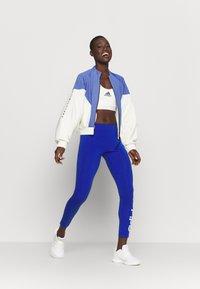 adidas Performance - COVER UP - Veste de survêtement - white/black - 1