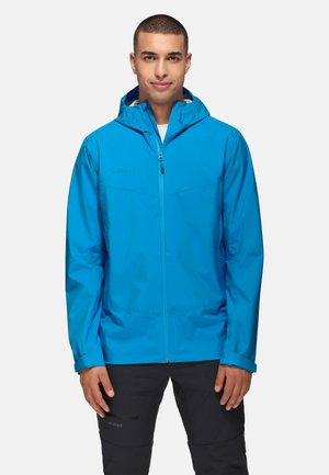 Waterproof jacket - gentian