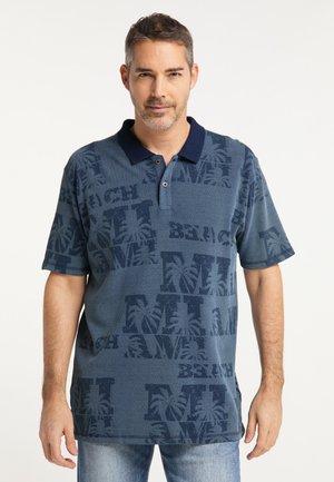 Poloshirt - indigoblue