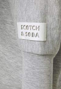 Scotch & Soda - LONGER LENGTH SPECIAL SHAPED - Sweatshirt - grey melange - 2