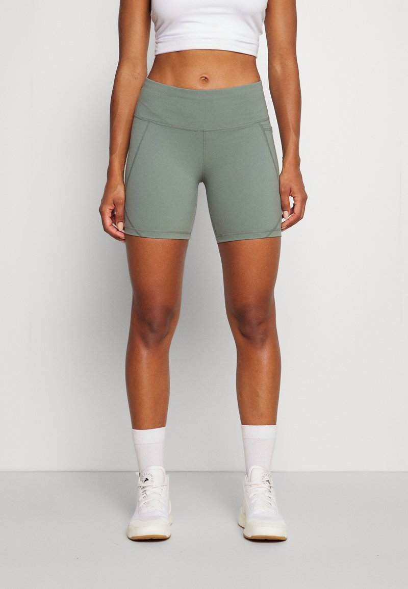 Sweaty Betty - POWER BIKER SHORTS - Punčochy - heath green