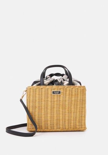 MEDIUM SATCHEL - Handbag - black/multi