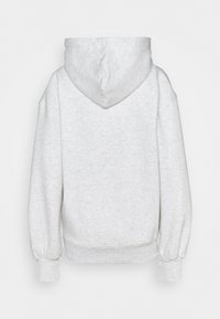 Missguided - BRANDED OVERSIZED BALLOON SLEEVE HOODY - Sweatshirt - grey marl - 1