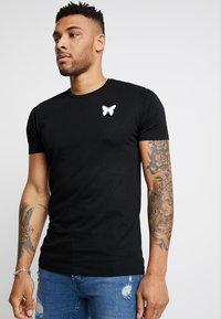 Good For Nothing - FITTED BACK BRANDING - T-shirt basic - black - 0