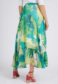 Guess - A-line skirt - mehrfarbig, grün - 2
