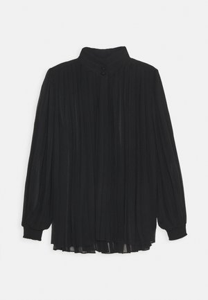 CLAIRE AMAZING PLEATED BLOUSE - Bluse - black