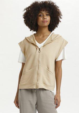 Zip-up hoodie - safari