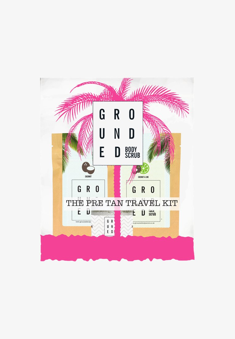 Grounded - PRE-TAN TRAVEL KIT - Bath and body set - neutral