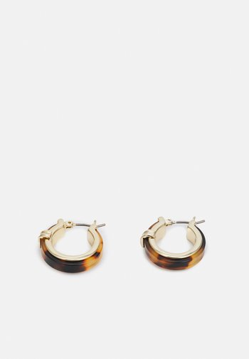 HOOP - Earrings - gold-coloured/tort