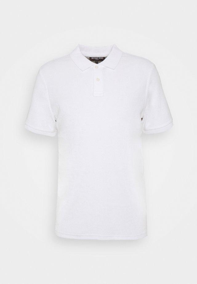 TERRY - Poloshirt - white