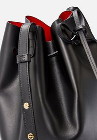 Mansur Gavriel - BUCKET BAG - Across body bag - black/flamma - 7