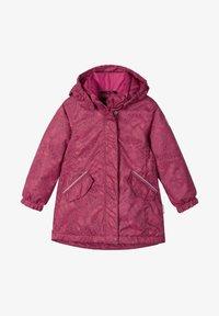 Reima - TAHO - Winter coat - jam red - 0