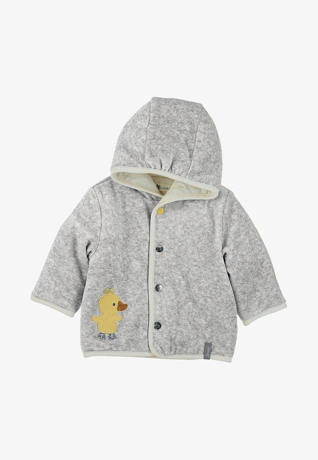 KAPUZEN-JACKE EDDA BABY - Winter jacket - grey