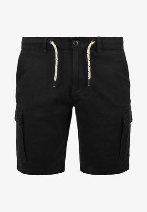 SIELLO - Pantalon cargo - black