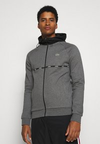 Lacoste Sport - veste en sweat zippée - pitch chine/black/white - 0