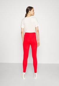 adidas Originals - STRIPES COMPRESSION - Leggings - Trousers - red - 3