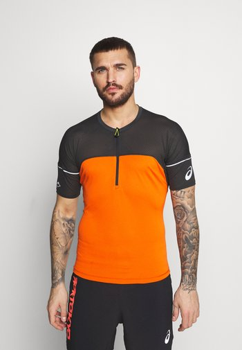 FUJITRAIL - T-shirt imprimé - marigold orange
