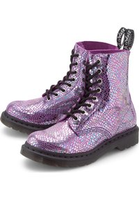 Dr. Martens - Lace-up ankle boots - pink - 2