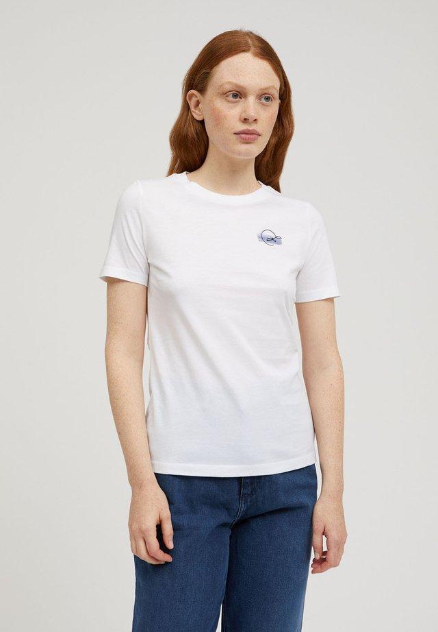 LIDAA ELEMENTS - T-shirt print - white