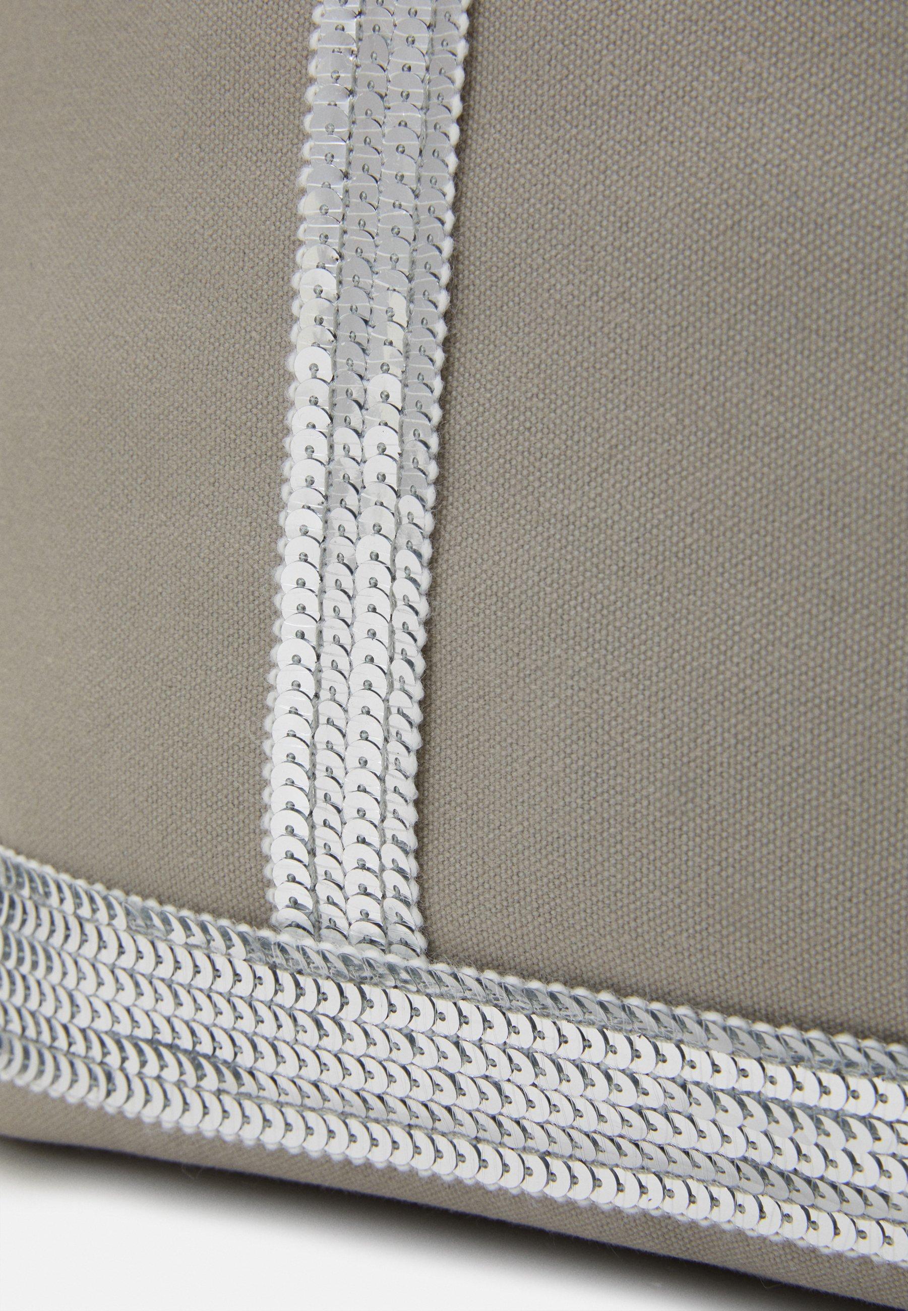 Vanessa Bruno CABAS MOYEN - Shoppingveske - silver/sølv nPClSoC7BXjKq0b