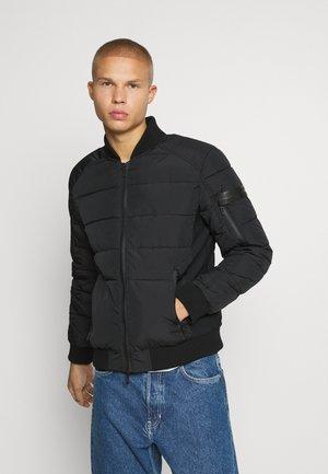 SLIM FIT - Winter jacket - black