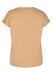 Zizzi - Basic T-shirt - orange - 5