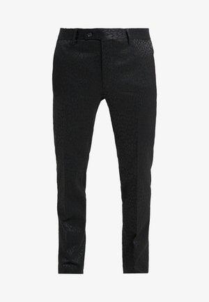 PAUL NORMAL  - Kostymbyxor - black