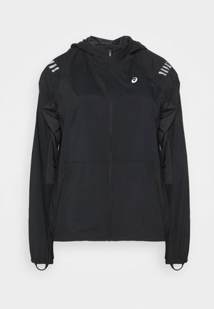LITE SHOW JACKET - Běžecká bunda - performance black/graphite grey