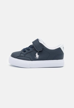 THERON IV UNISEX - Baskets basses - navy tumbled/white