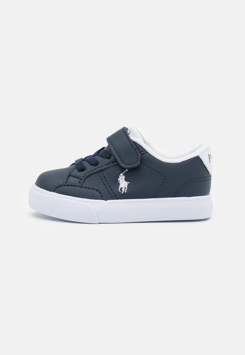 Polo Ralph Lauren - THERON IV UNISEX - Trainers - navy tumbled/white