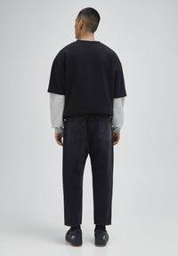 PULL&BEAR - Jeans a sigaretta - mottled dark grey - 2