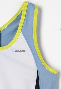 Head - FIONA DRESS  - Sports dress - white/yellow - 6