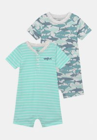 Carter's - 2 PACK - Jumpsuit - mint/blue - 0