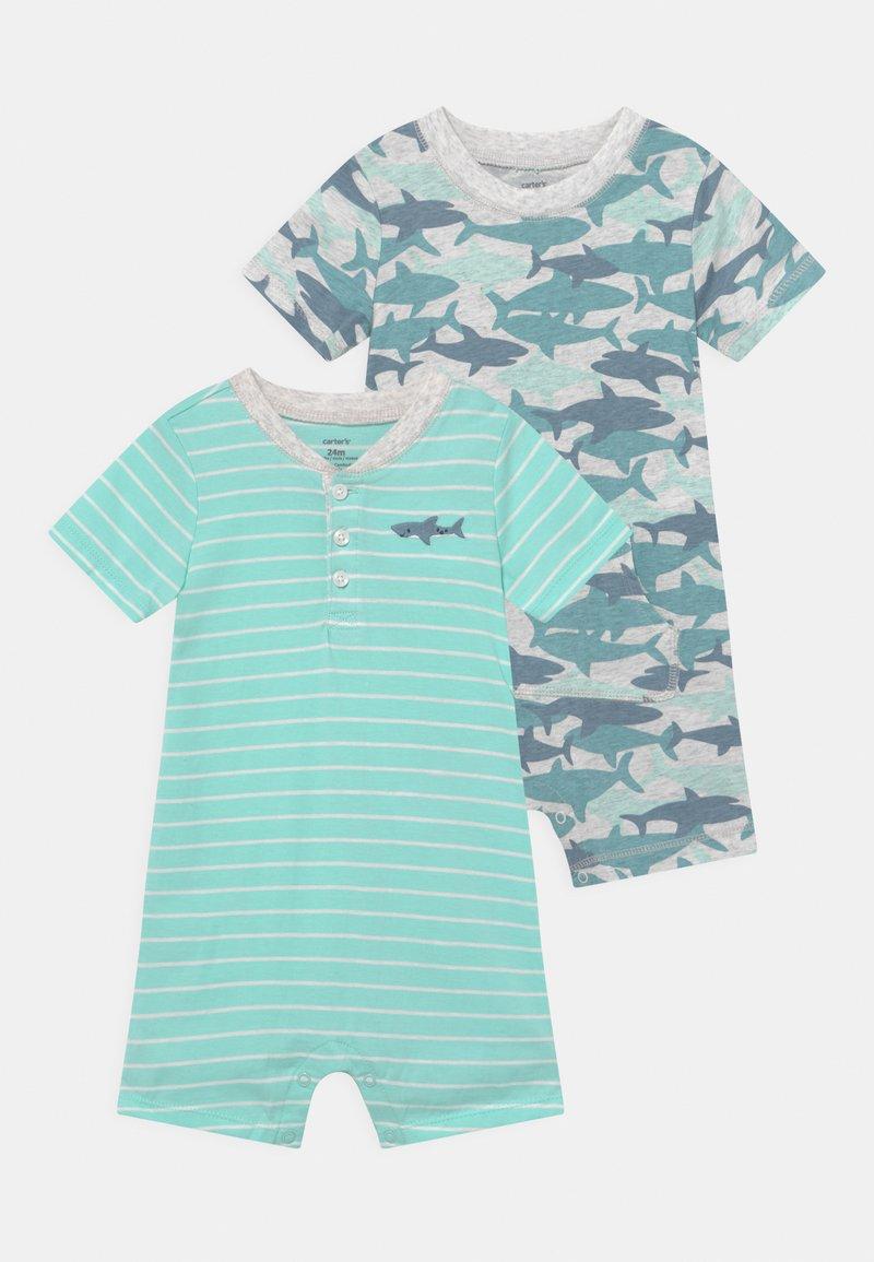 Carter's - 2 PACK - Jumpsuit - mint/blue