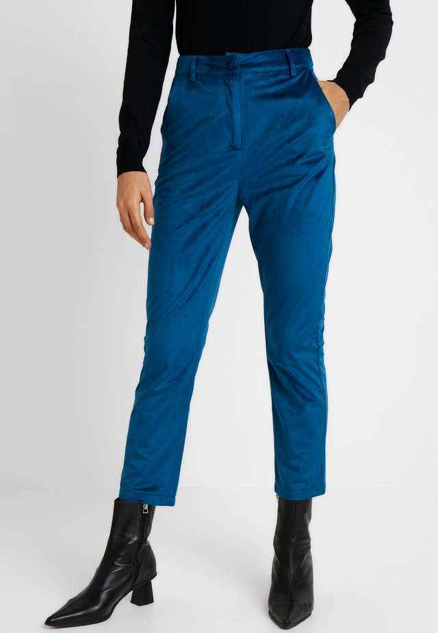 ELVIS FASHION UNION TROUSER - Pantaloni - blue