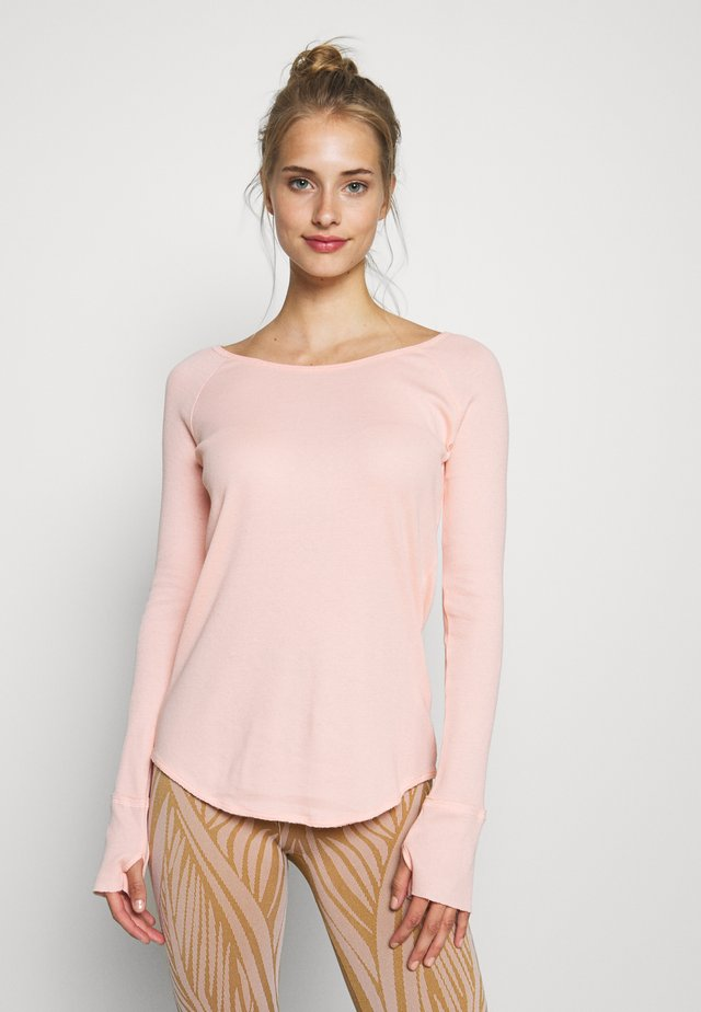 VISHAMA - Long sleeved top - porcelaine