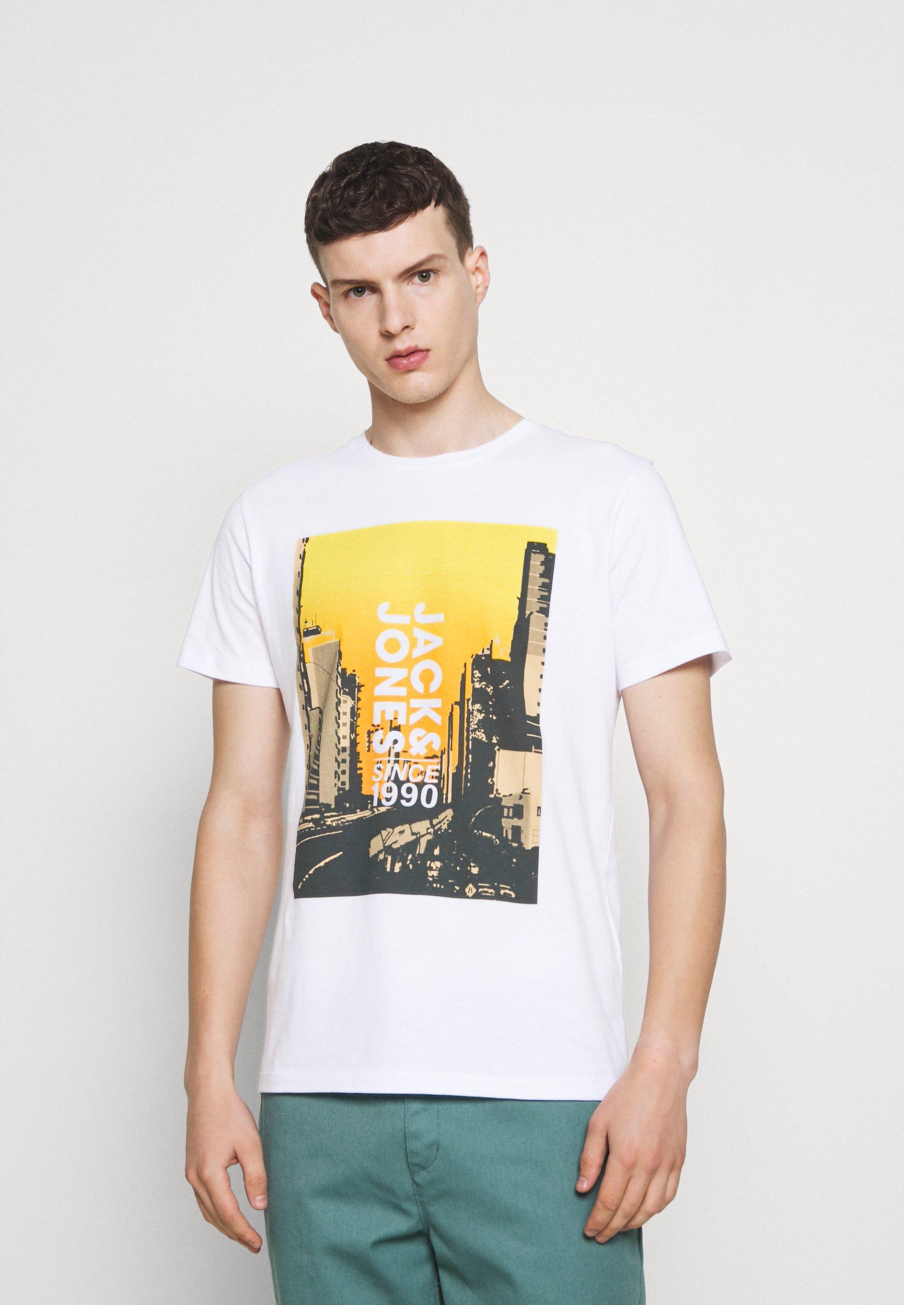 Homme JCOJACKSON TEE  - T-shirt imprimé