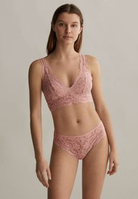 OYSHO - WITH REMOVABLE CUPS - Bustier - rose - 0