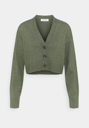 FIONA CARDIGAN - Cardigan - khaki