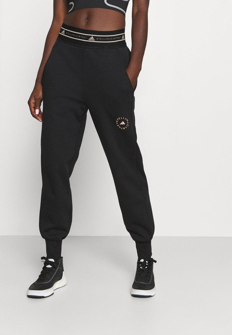 adidas by Stella McCartney - Tracksuit bottoms - black