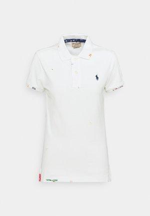 SHORT SLEEVE - Poloskjorter - deckwash white